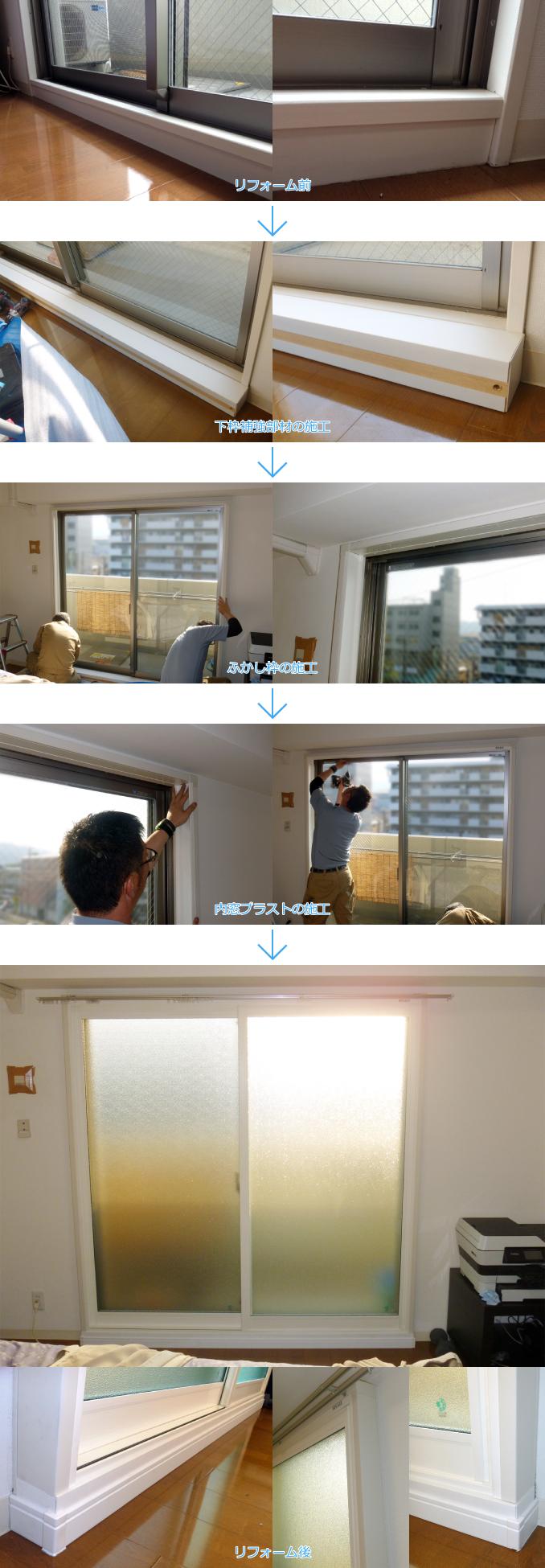 内窓プラスト&ソノグラスの導入事例:京都市西京極O様