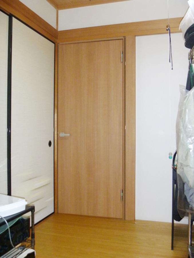 室内防音ドア 施工後