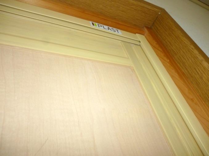 室内防音引き戸(内窓プラスト+防音合わせガラス12mm+面材)施工後