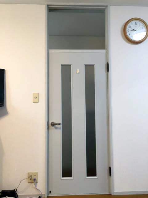 リビング ドア 施工前