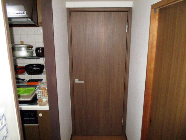 室内防音ドア施工後