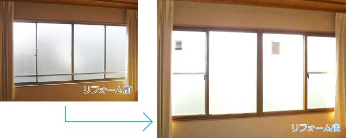 内窓インプラスの導入事例:京都市N様