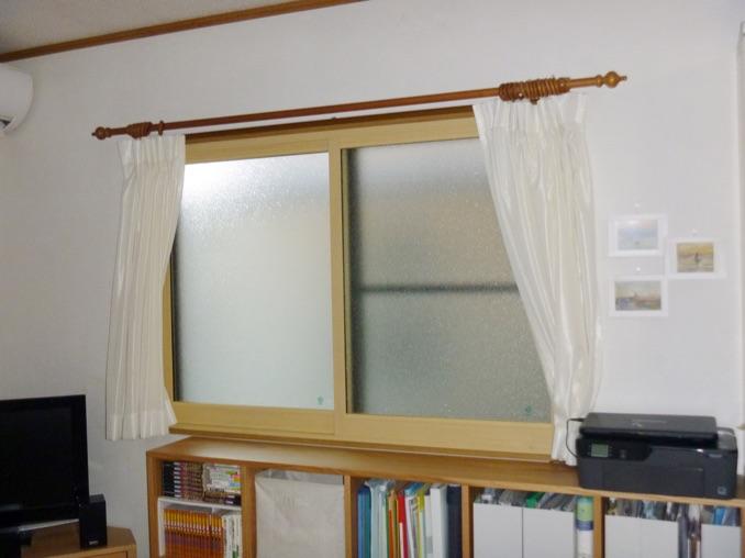 リビング 腰窓:内窓プラスト+防音ガラス12mm 施工後