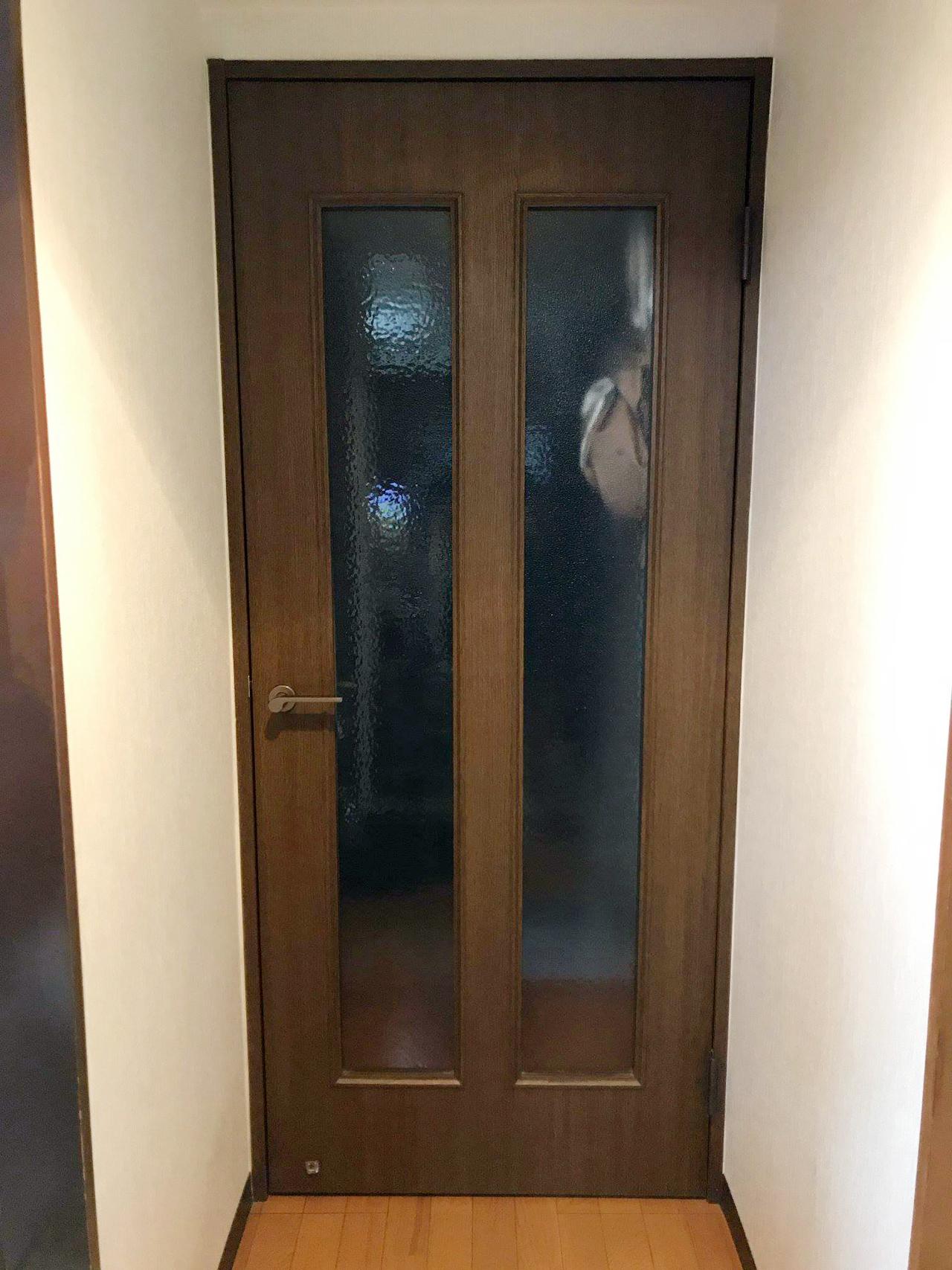 既存ドア施工前