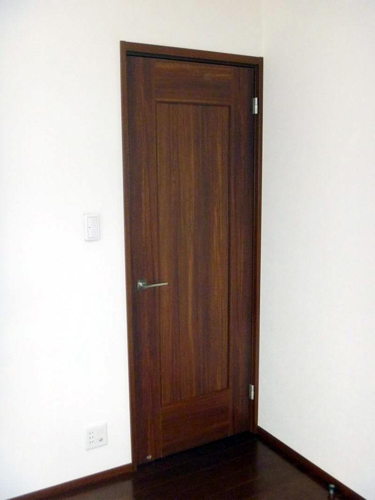 室内ドア施工前