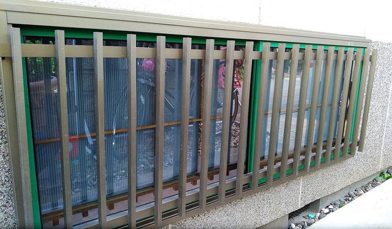 真空ガラススペーシアクール(透明ガラス)DIY設置後