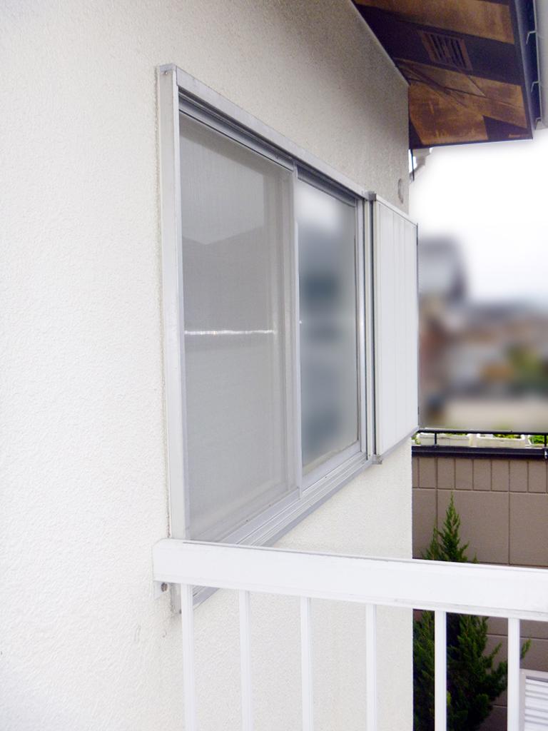 施工前の窓(エコ面格子)