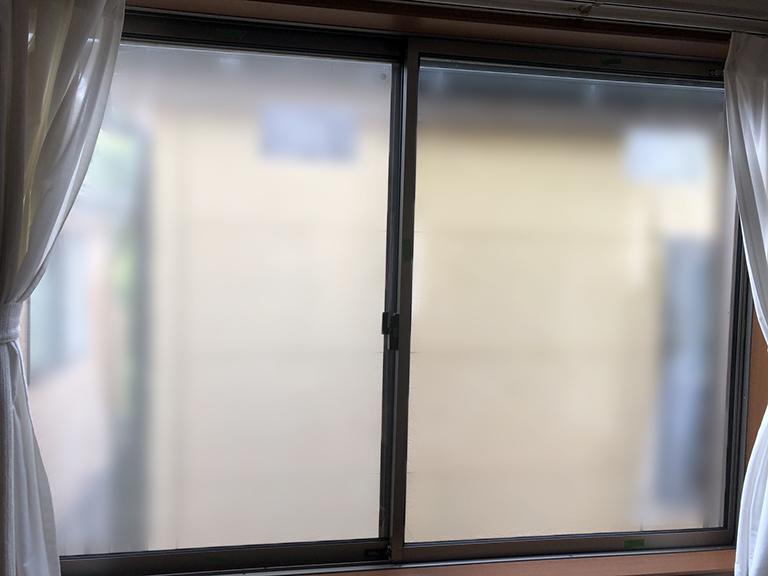 真空ガラススペーシアクールDIY施工後