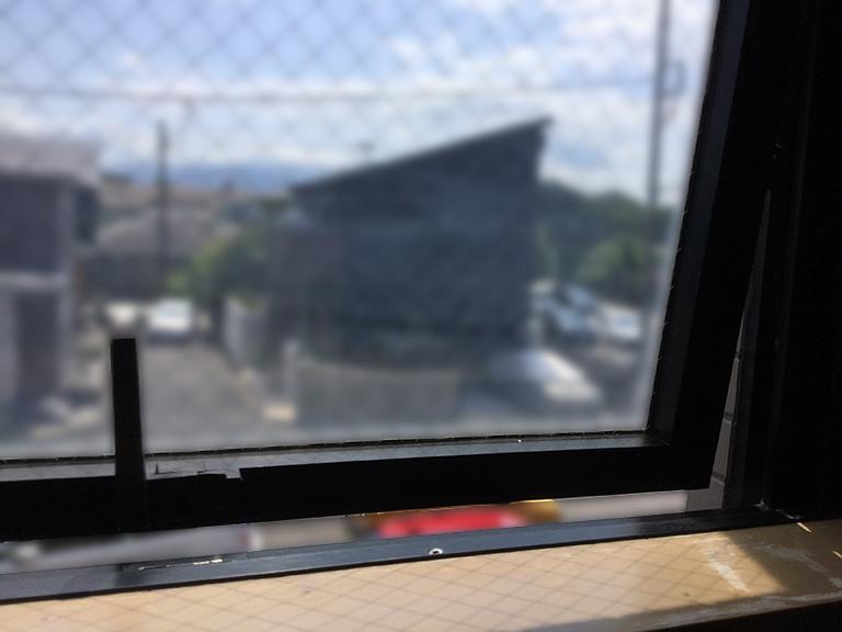 設置前の既存窓