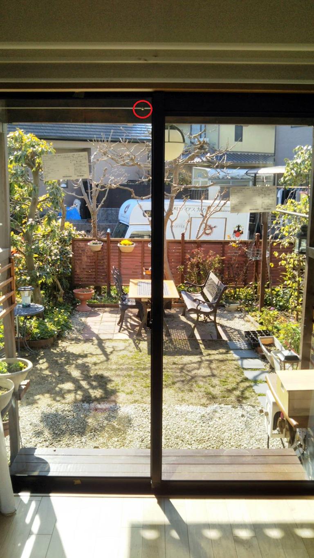 真空ガラスクリアFit-DIY設置後