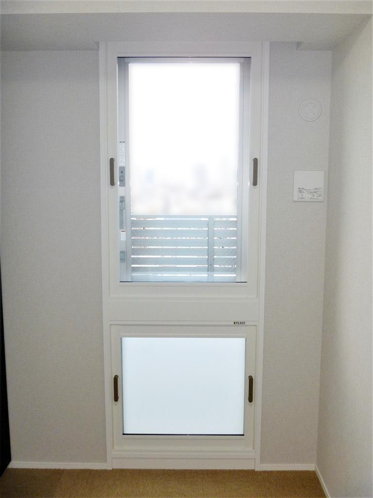 内窓プラスト&Low-E複層ガラス(アルゴンガス入り)施工後