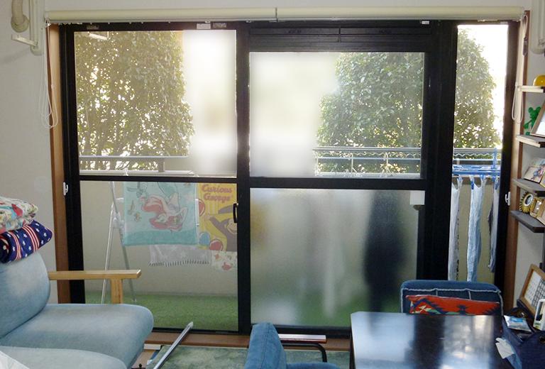 リビング連窓タイプの窓