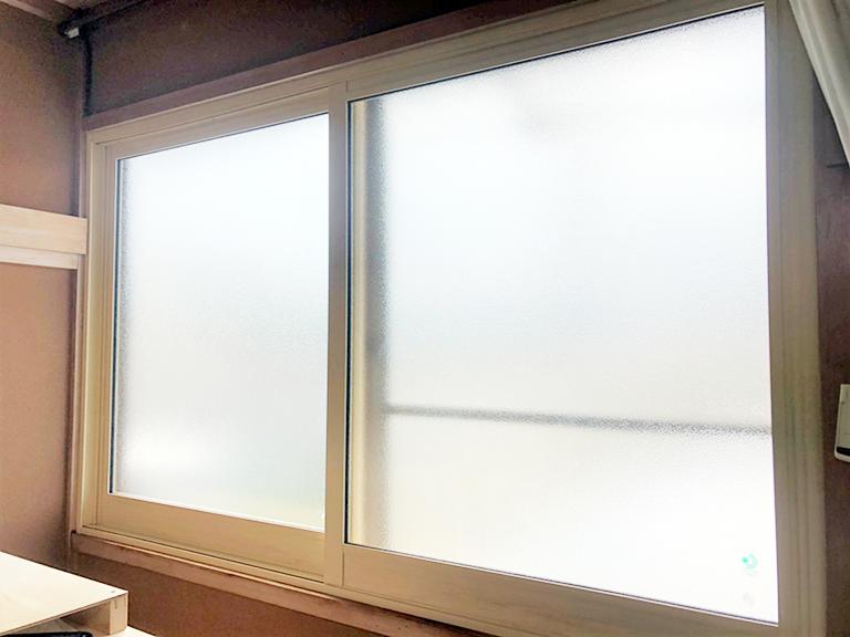 防音内窓(大信工業プラスト+防音合せガラス)施工後